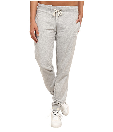 PUMA - Sweat Pants (Light Grey Heather) Women