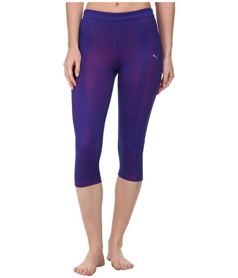 PUMA - Fitness ACTV Power 3/4 Tight (Spectrum Blue Shade) Women's Workout