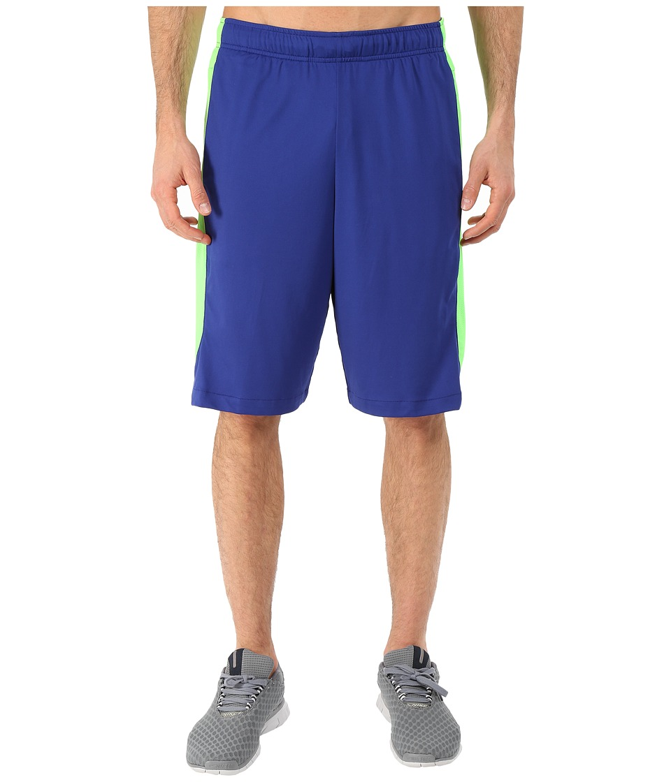 Nike - Hyperspeed Knit Short (Deep Royal Blue/Green Strike/Black) Men
