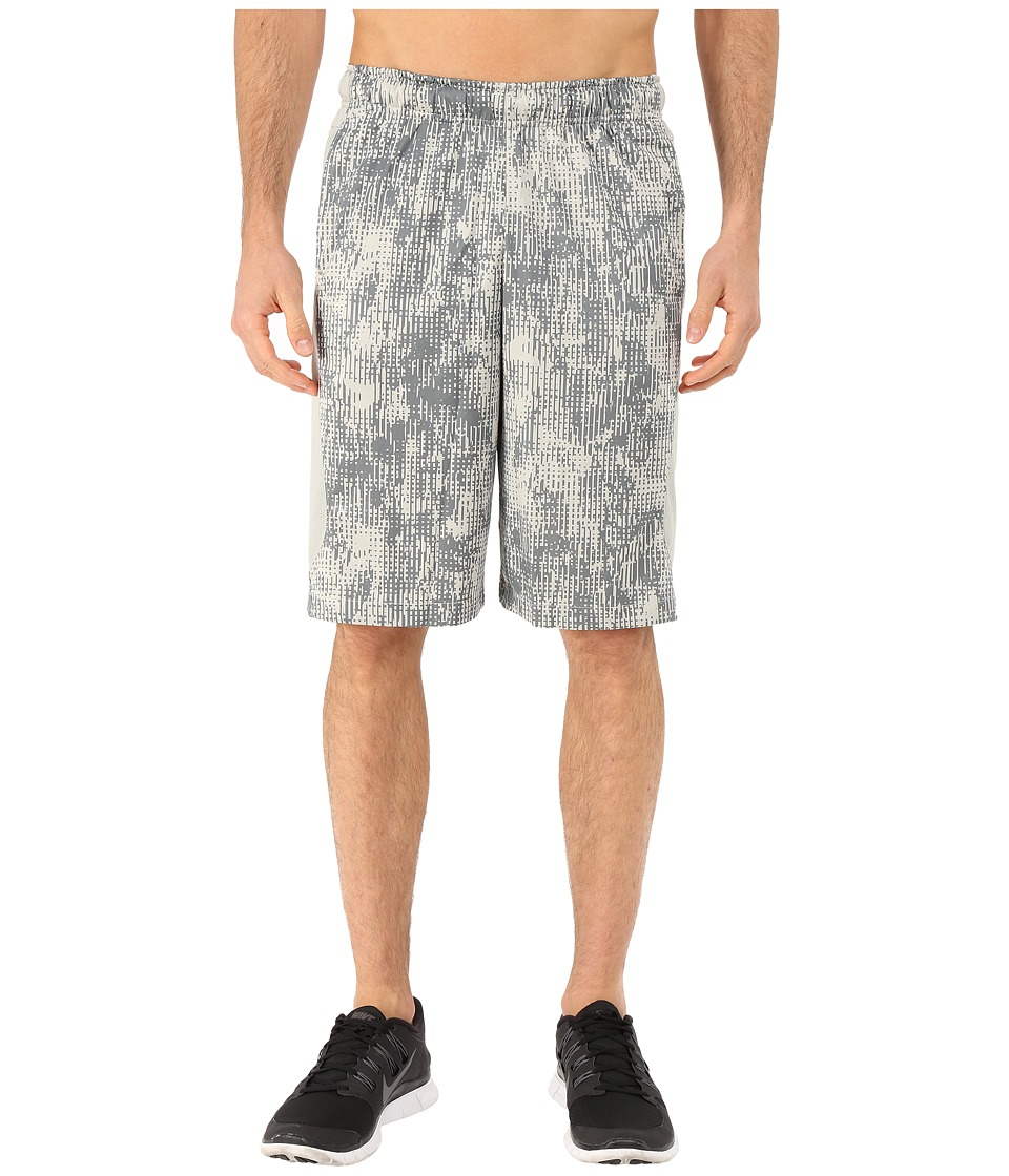 Nike - Hyperspeed Knit Shred Shorts (Lunar Grey/Lunar Grey/Tumbled Grey) Men