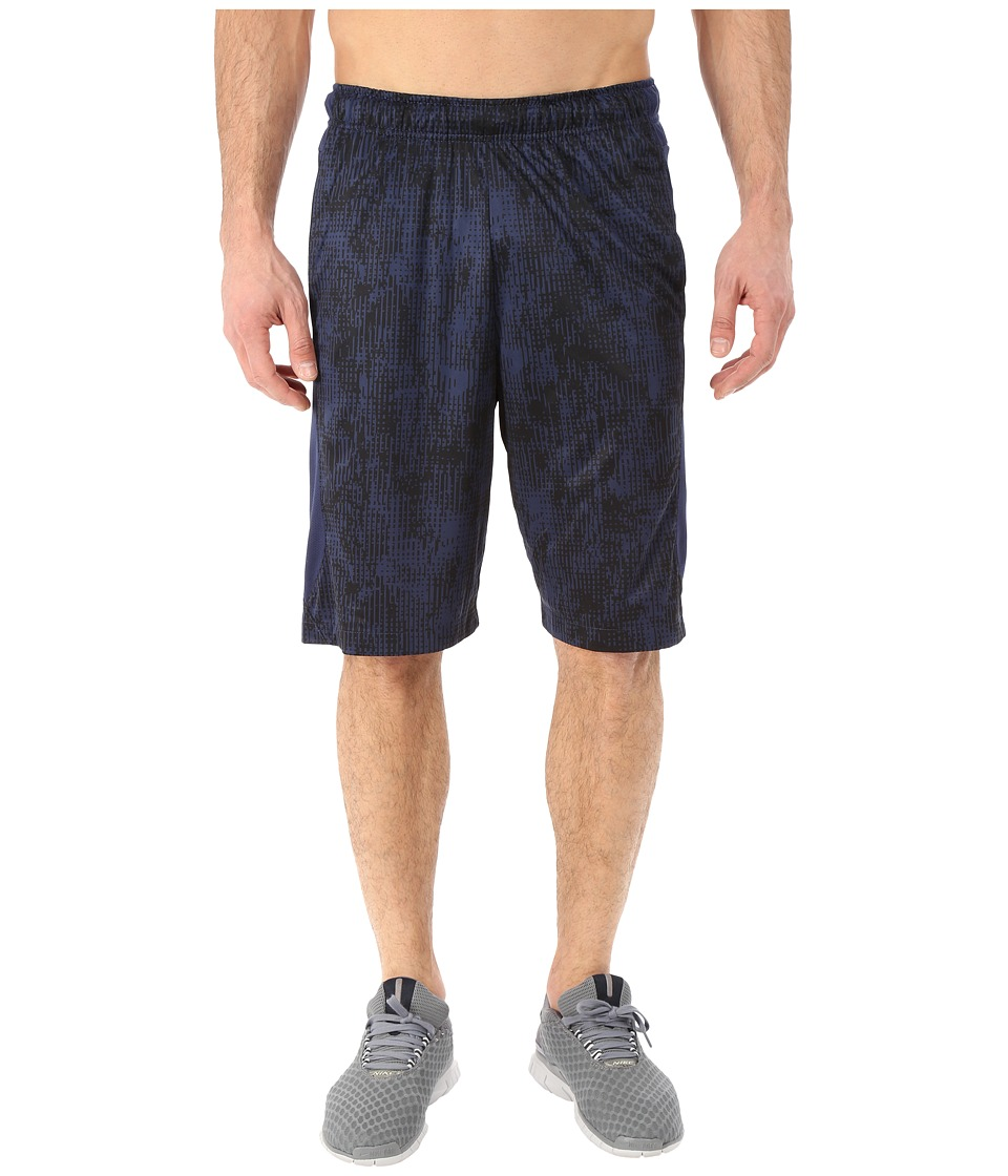 Nike - Hyperspeed Knit Shred Shorts (Midnight Navy/Midnight Navy/Black) Men's Shorts