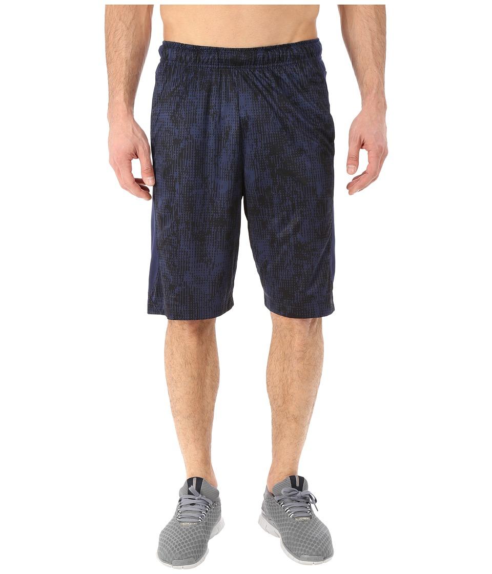 Nike - Hyperspeed Knit Shred Shorts (Midnight Navy/Midnight Navy/Black) Men's Shorts