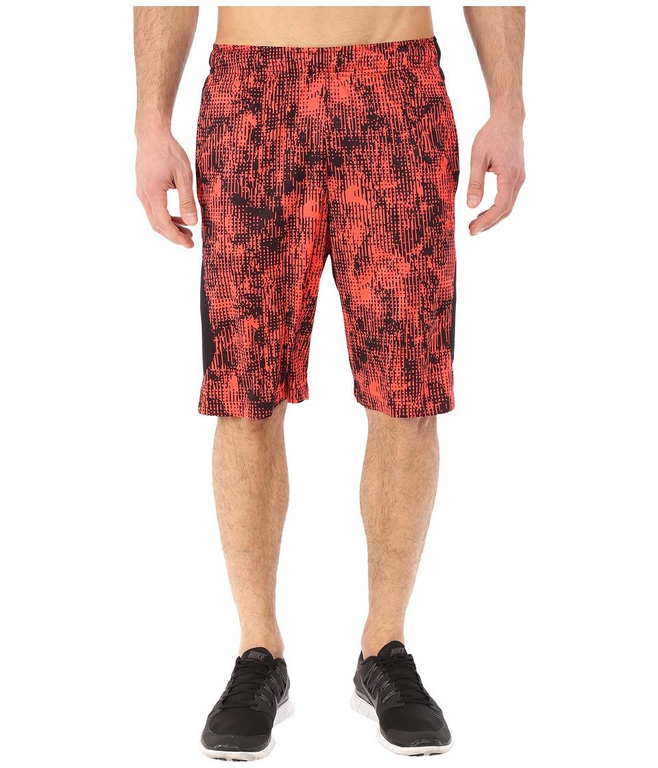 Nike - Hyperspeed Knit Shred Shorts (Bright Crimson/Black/Bright Crimson) Men's Shorts