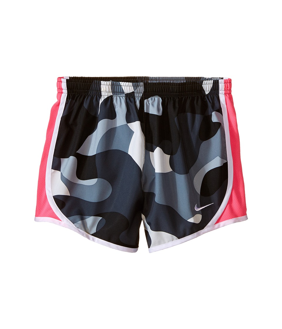 Nike Kids - Tempo AOP Shorts (Little Kids/Big Kids) (Anthracite/Pink Pow/White/White) Girl's Shorts