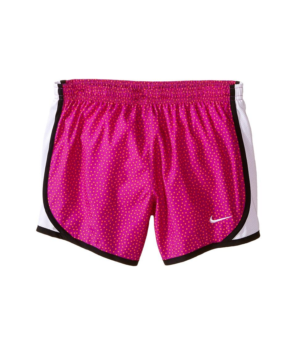 Nike Kids - Tempo AOP Shorts (Little Kids/Big Kids) (Vivid Purple/White/Black/White) Girl