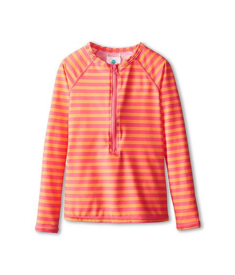 Roxy Kids - Flamingo Beach Long Sleeve Rashguard (Big Kids) (Melon) Girl