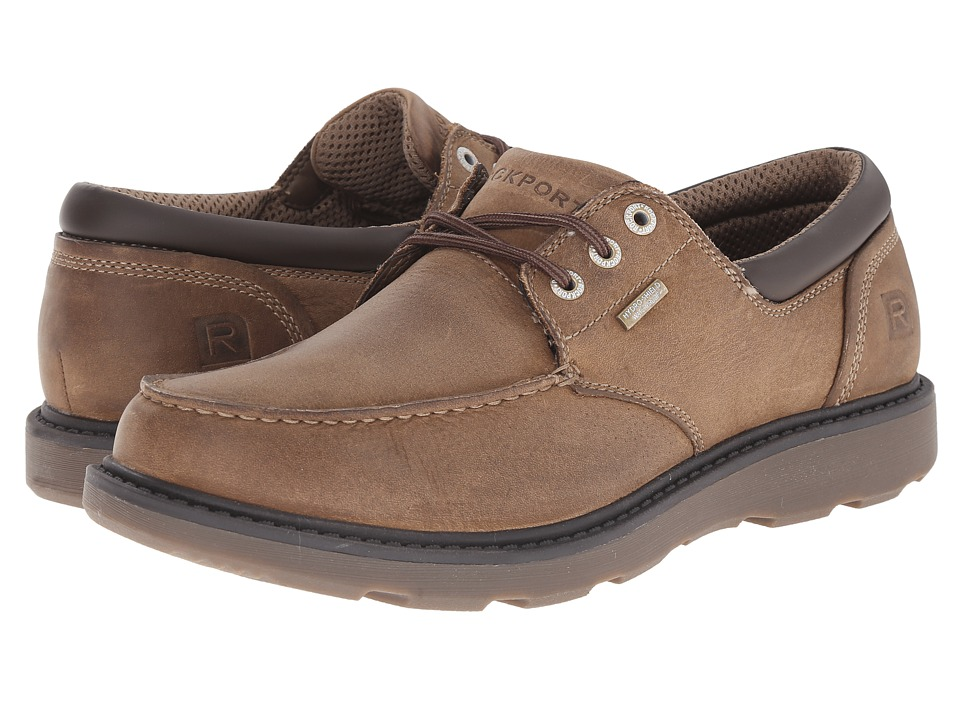 Rockport Boat Builders Moc Toe Ox (Tan WP) Men