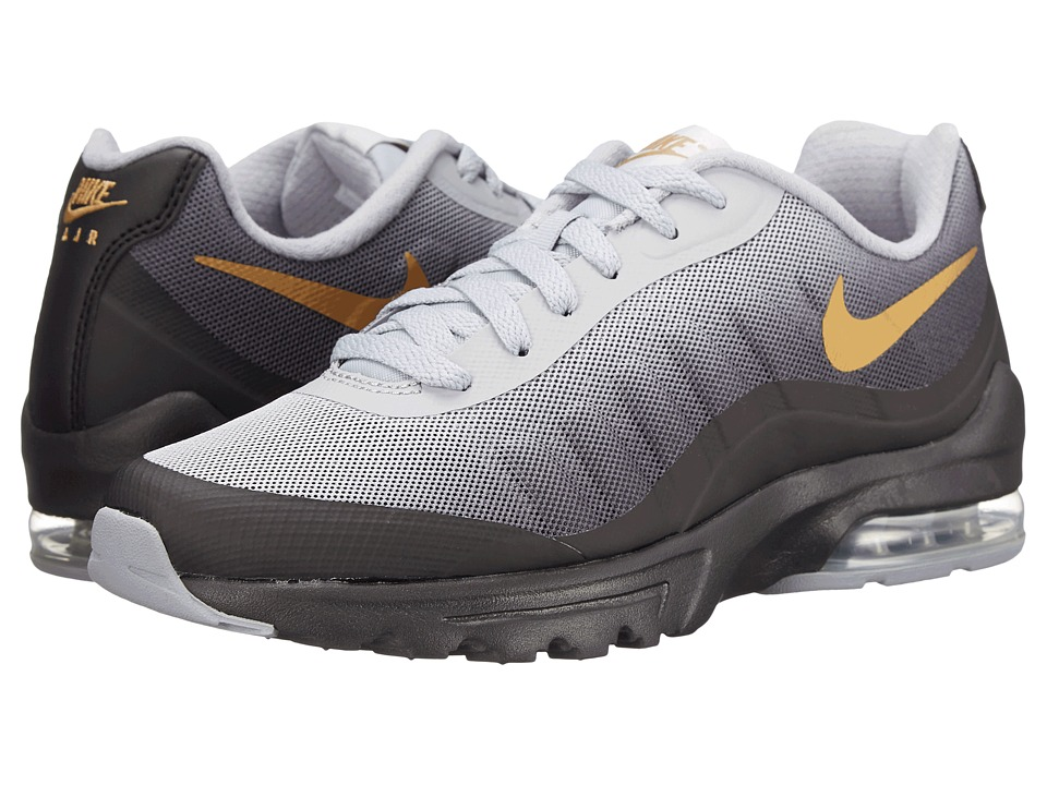 Nike - Air Max Invigor Print (Black/Wolf Grey/Cool Grey/Metallic Gold) Women's Classic Shoes