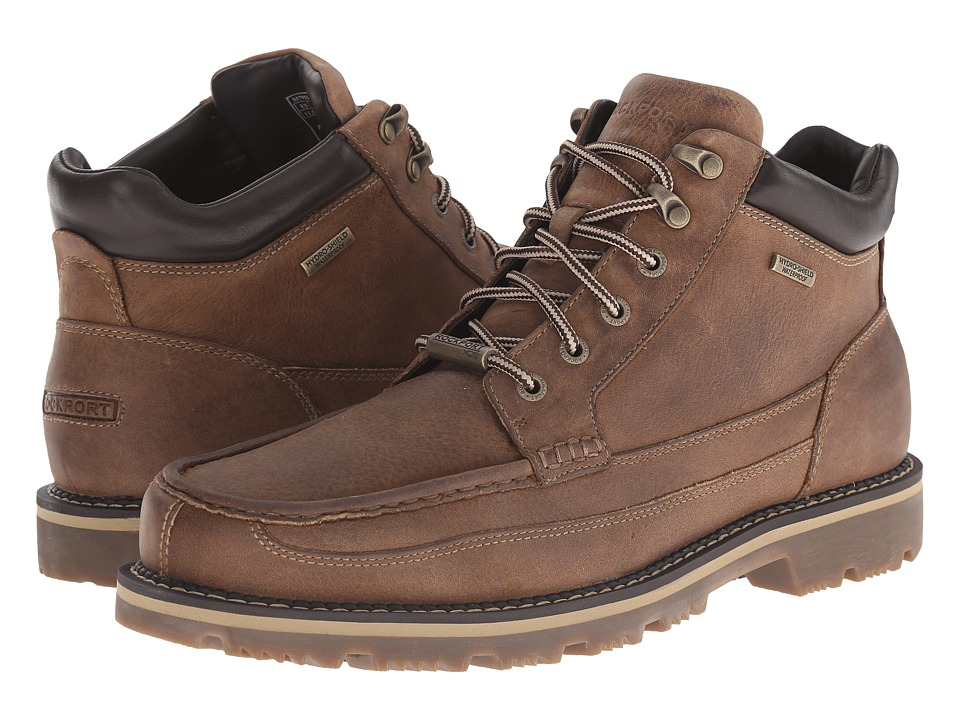 Rockport Gentry Moc Mid Boot (New Tan) Men