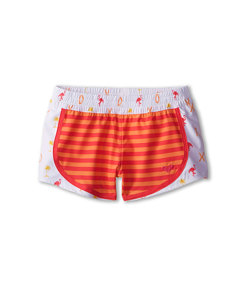Roxy Kids - Flamingo Beach Swim Shorts (Big Kids) (Melon) Girl's Swimwear