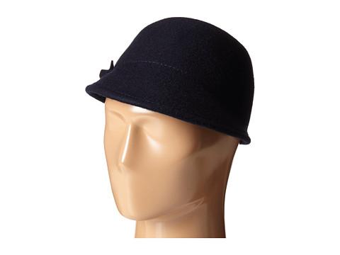 Ted Baker - Bena Bow Felt Cap (Navy) Caps
