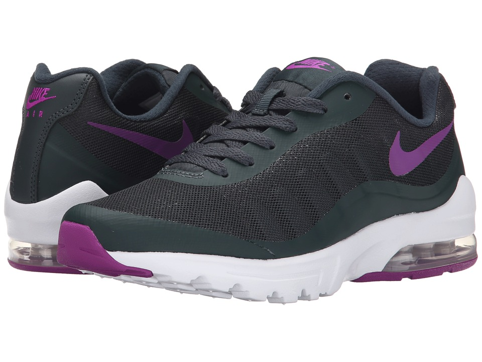 Womens Shoes Nike Air Max Invigor Seaweed/White/Vivid Purple