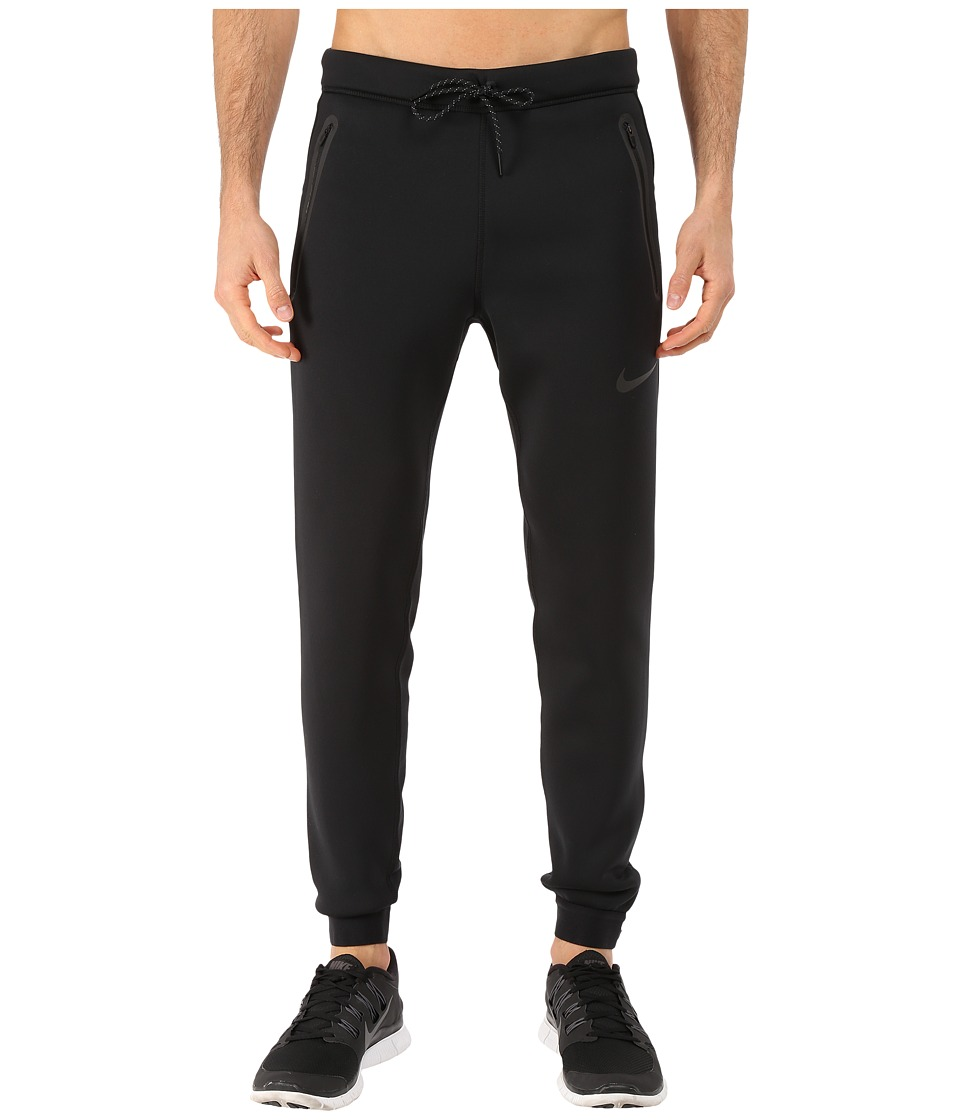 Nike - Tech Thermasphere Max Pants (Black/Lunar Grey/Black/Black) Men's Casual Pants