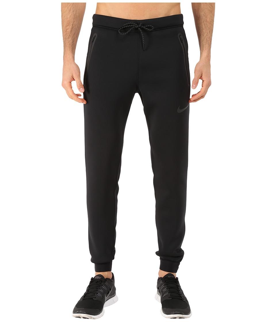 Nike - Tech Thermasphere Max Pants (Black/Lunar Grey/Black/Black) Men's Casual Pants