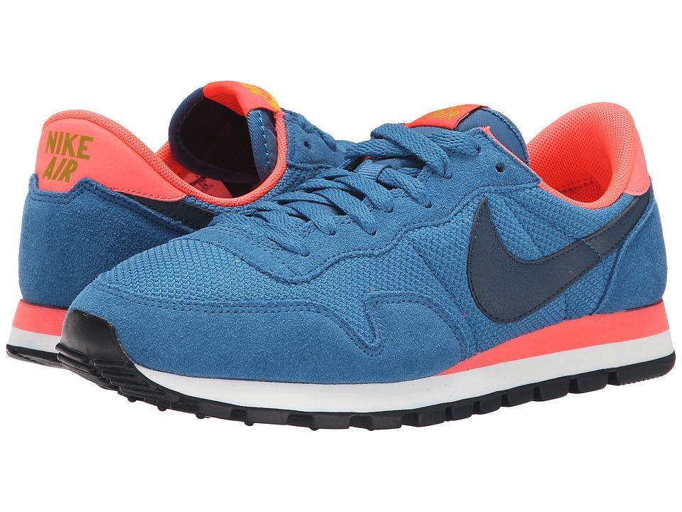 Nike - Air Pegasus '83 (Brigade Blue/Hot Lava/Dark Citron/Squadron Blue) Women's Shoes