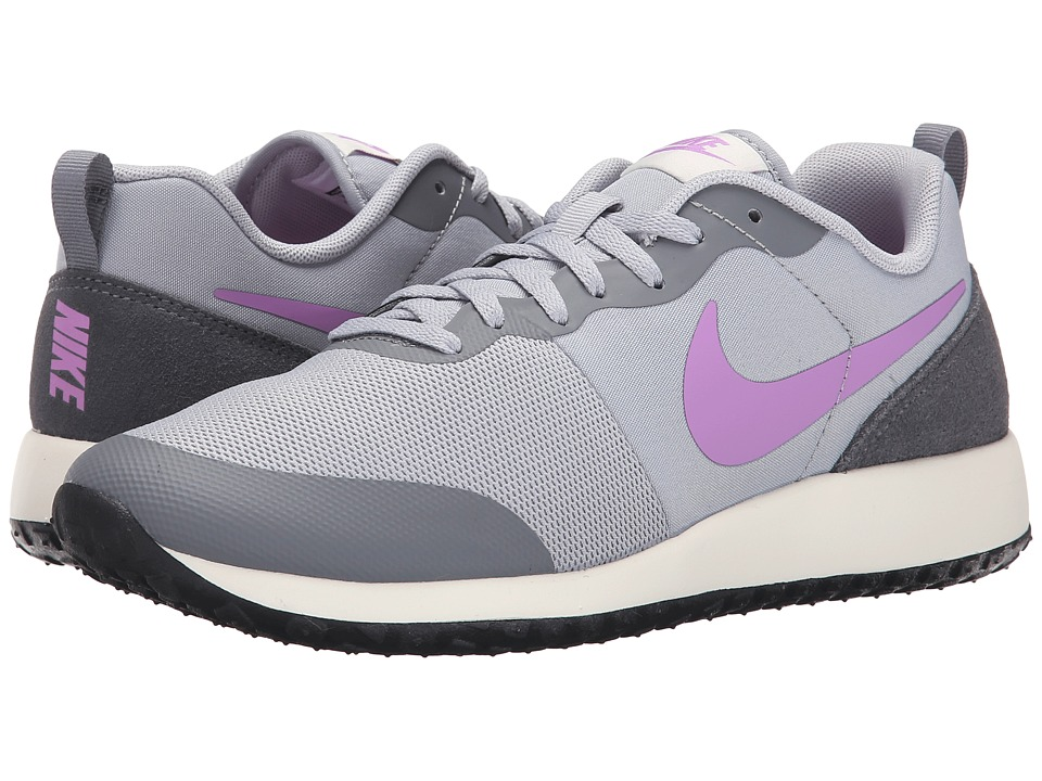 Nike - Elite Shinsen (Wolf Grey/Cool Grey/Sail/Fuchsia Glow) Women's Classic Shoes