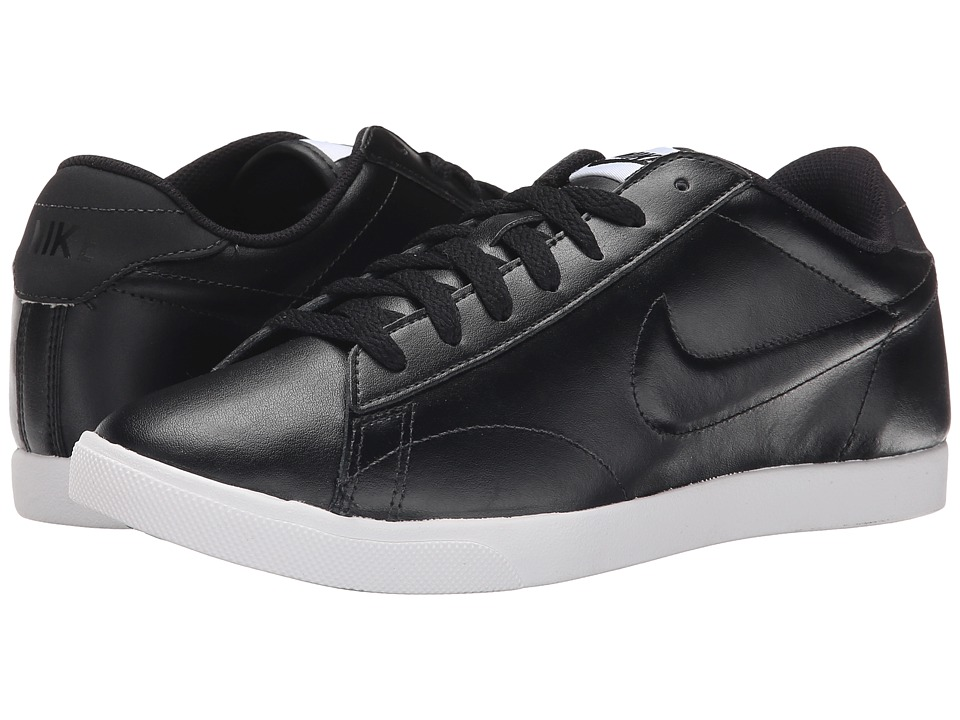 Nike - Racquette Leather (Black/White/Black 2) Women's Court Shoes