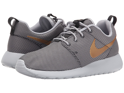 Nike - Roshe One (Anthracite/Wolf Grey/Pure Platinum/Metallic Gold) Women