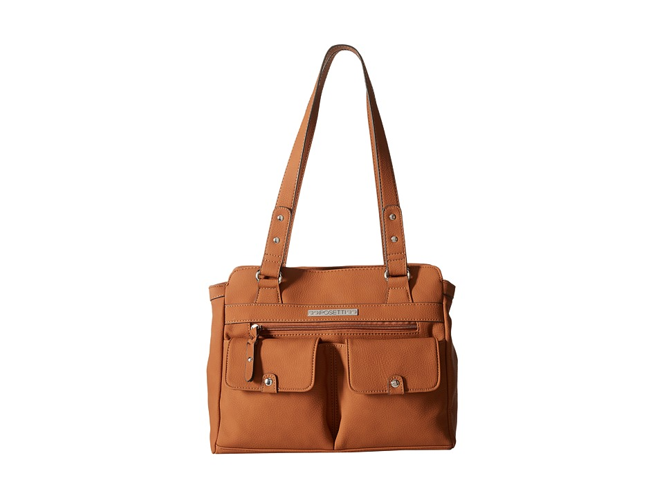 Rosetti - Pocket Change Satchel (Maple) Satchel Handbags