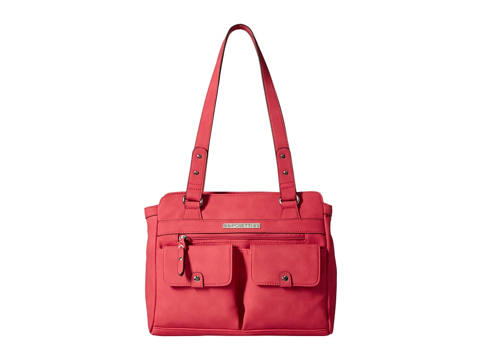 Rosetti - Pocket Change Satchel (Tabasco) Satchel Handbags