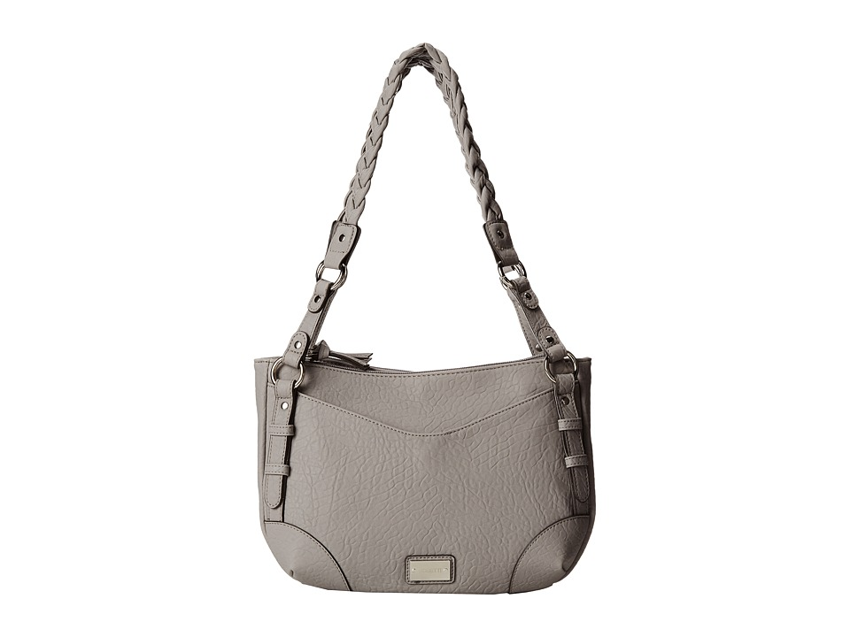 Rosetti - Addison Satchel (Husky Grey) Satchel Handbags