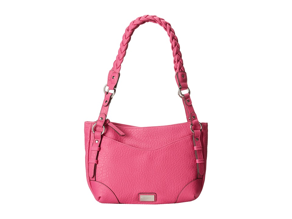 Rosetti - Addison Satchel (Pop Pink) Satchel Handbags