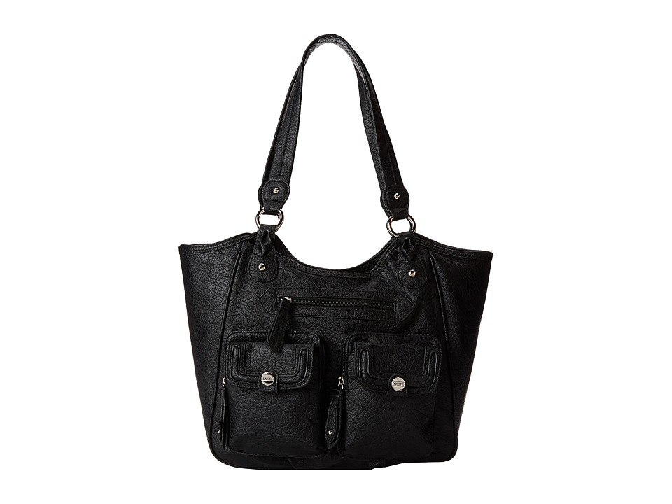 Rosetti - Paige Four Poster (Black) Top-handle Handbags