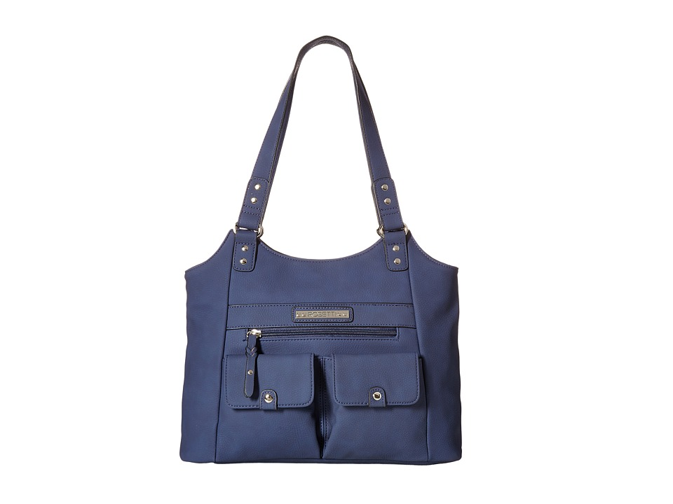 Rosetti - Pocket Change Four Poster (Pacific Navy Solid) Top-handle Handbags