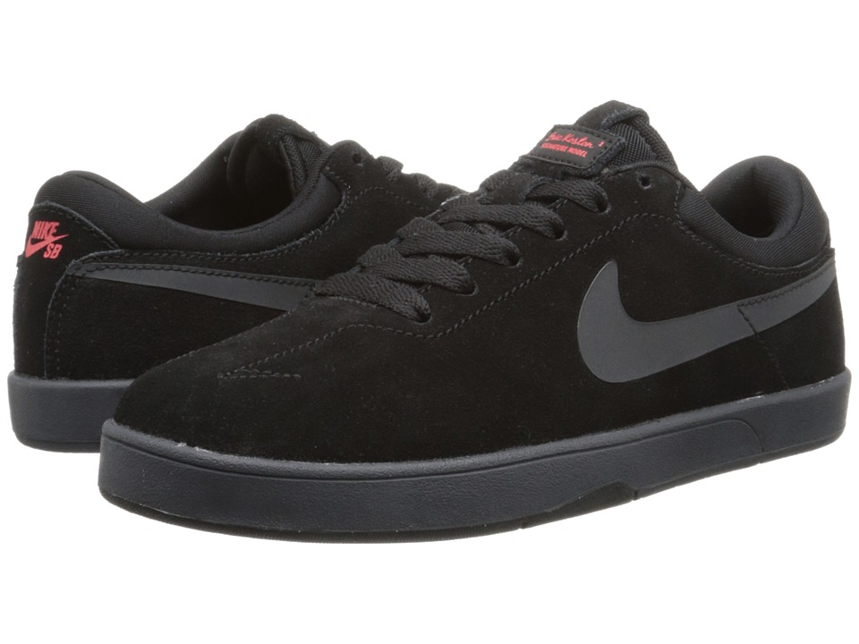 Nike SB Kids - Eric Koston (Big Kid) (Black/Light Crimson/Anthracite) Boys Shoes