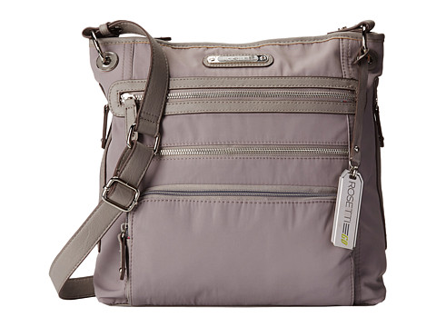 Rosetti - Go In Motion Large Crossbody (Husky Grey) Cross Body Handbags