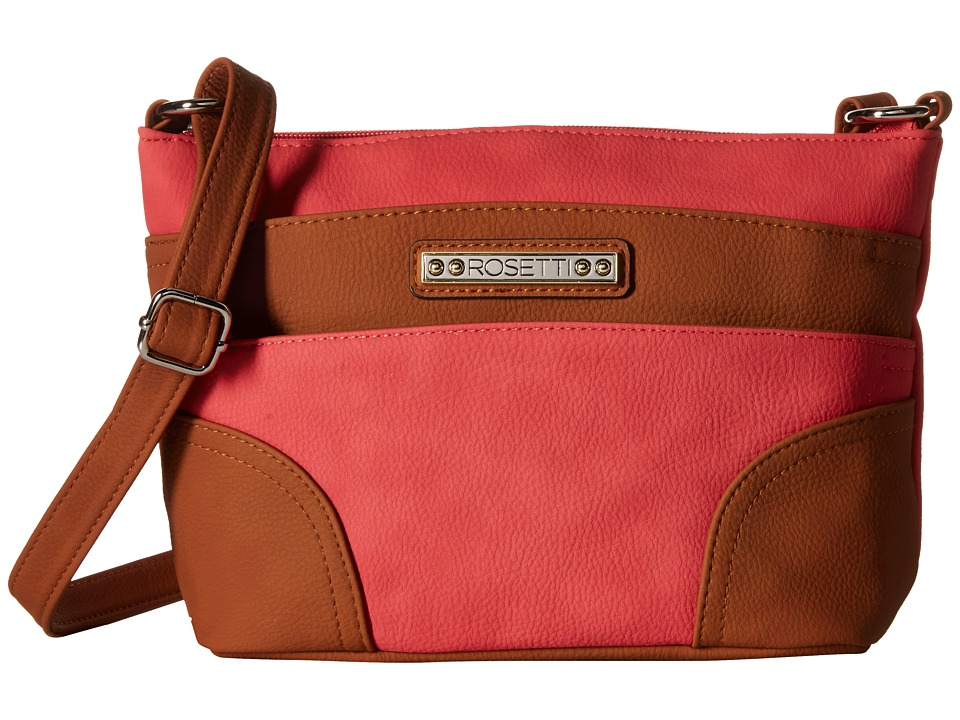 Rosetti - Adalynn Triple Play Mini Crossbody (Tabasco) Cross Body Handbags