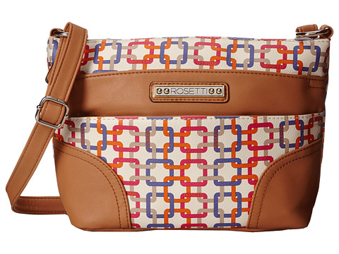 Rosetti - Adalynn Triple Play Mini Crossbody (Mango Multi Emerson) Cross Body Handbags