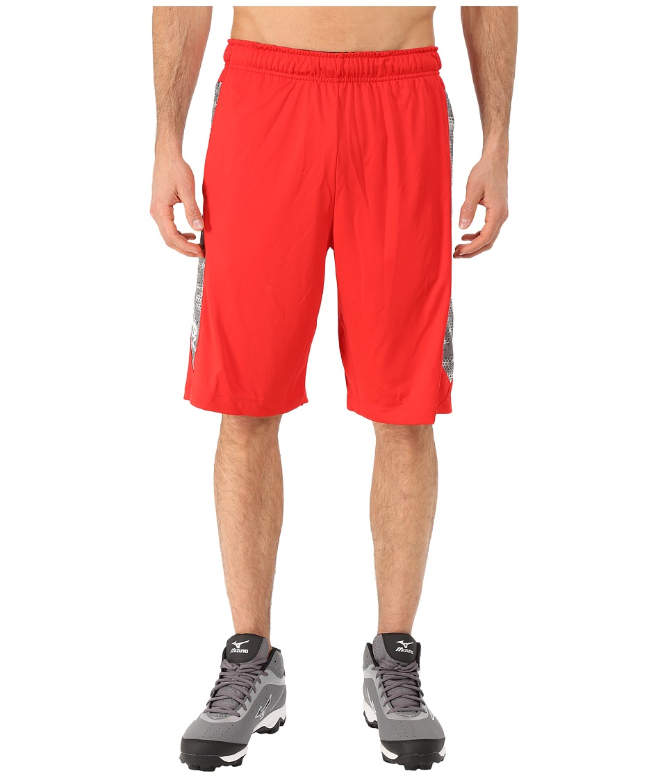 Nike - Baseball Hyperspeed Knit Shorts (University Red/Tumbled Grey/White) Men's Shorts