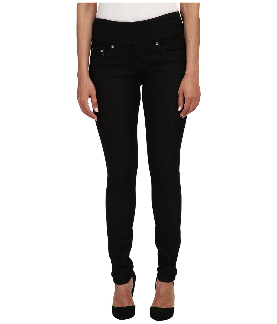 Jag Jeans Petite - Petite Nora Pull On Skinny Knit Denim in Black Rinse (Black Rinse) Women's Jeans