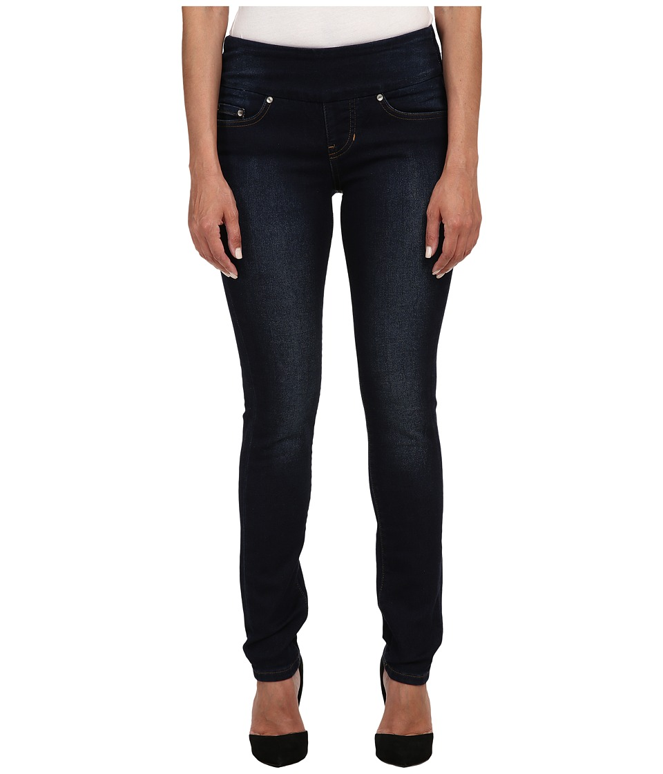 Jag Jeans Petite - Petite Nora Pull On Skinny Knit Denim in Dark Whale (Dark Whale) Women's Jeans