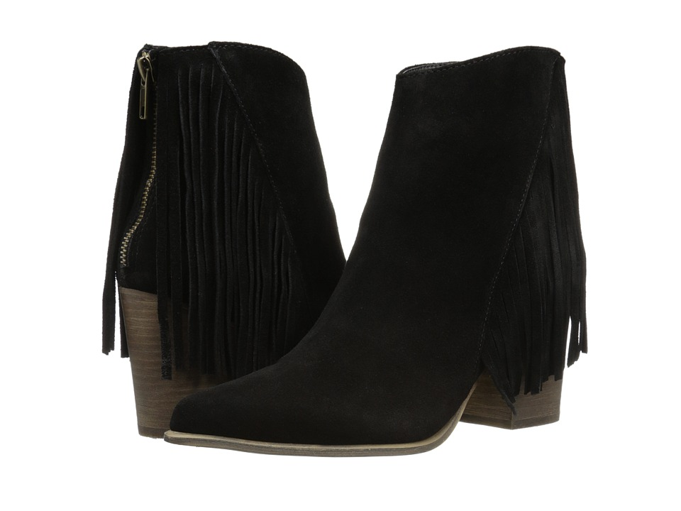 Steve Madden - Countryy (Black Suede) Women