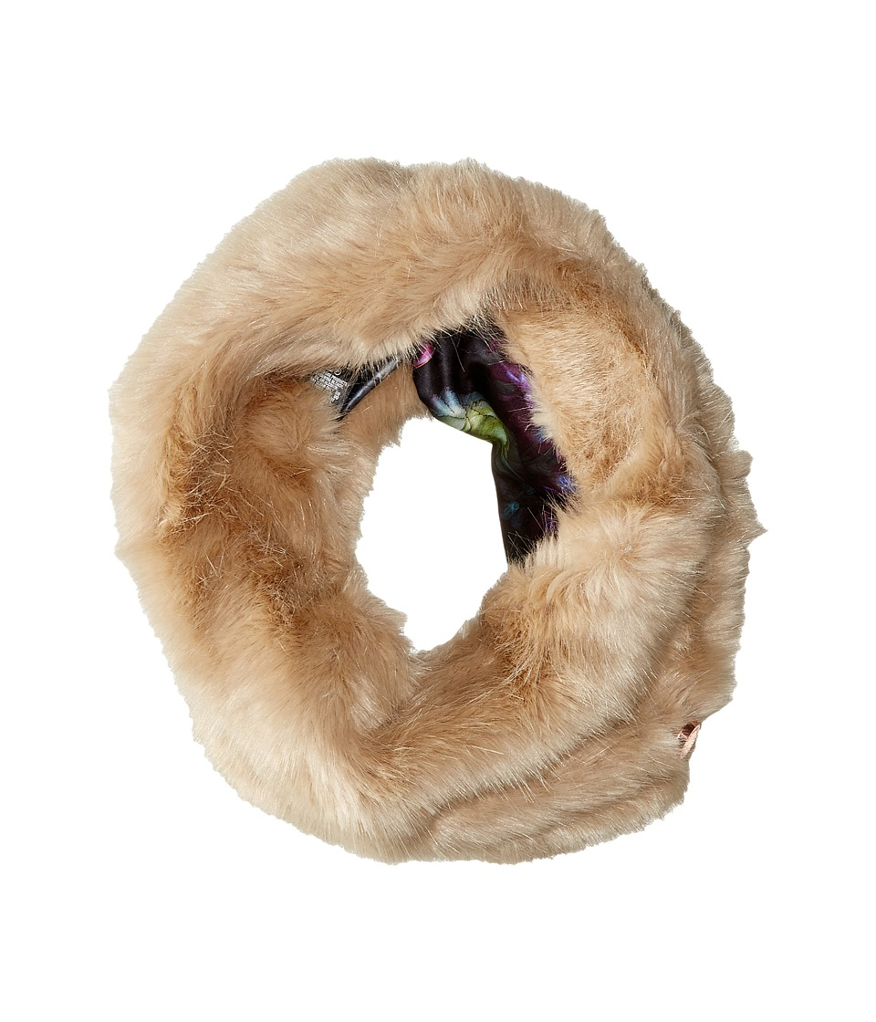 Ted Baker - Shayla Faux Fur Snood (Beige) Scarves