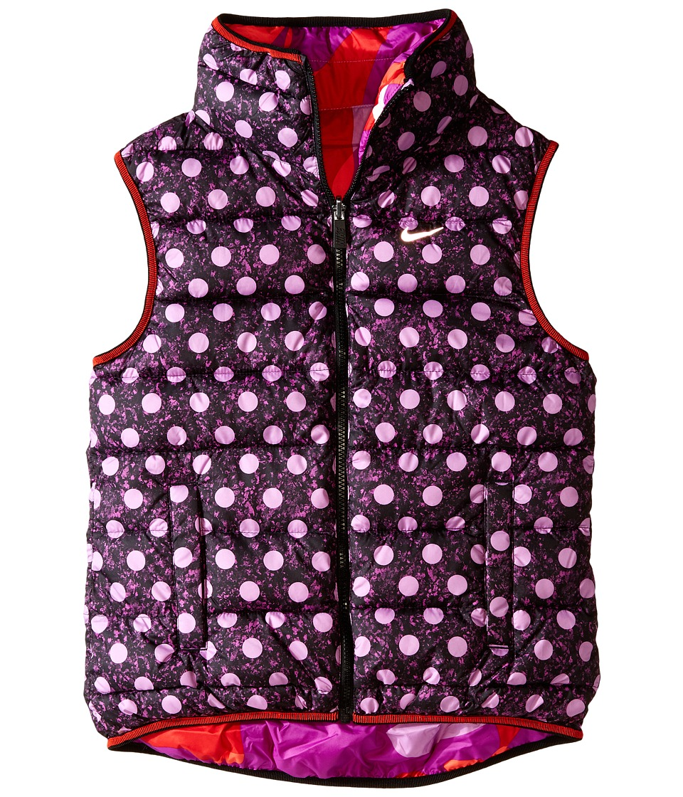 Nike Kids - Alliance GFX Vest (Little Kids/Big Kids) (Fuchsia Glow/Black/Reflective Silver) Girl