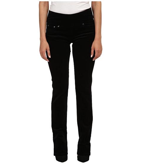 Jag Jeans Petite - Petite Peri Pull On Straight Wale Corduroy (Black) Women