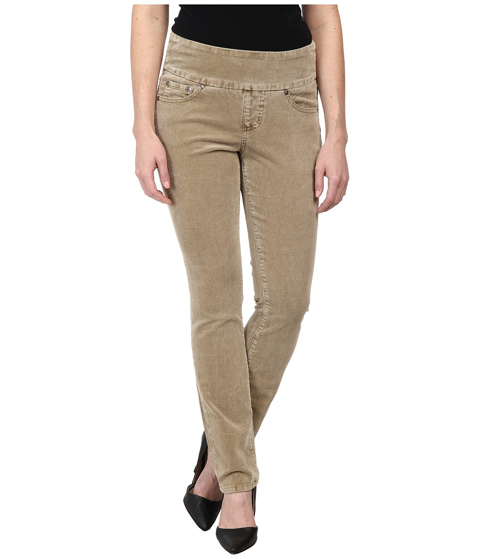 Jag Jeans Petite - Petite Peri Pull On Straight Wale Corduroy (Nutty) Women