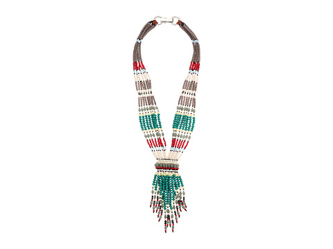 Gypsy SOULE - GSDN15362 (Turquoise/Red/White) Necklace