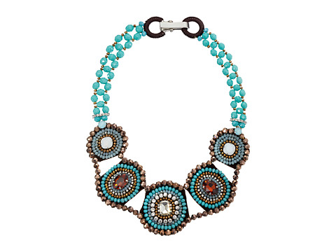 Gypsy SOULE - CRN33 (Turquoise/Brown) Necklace