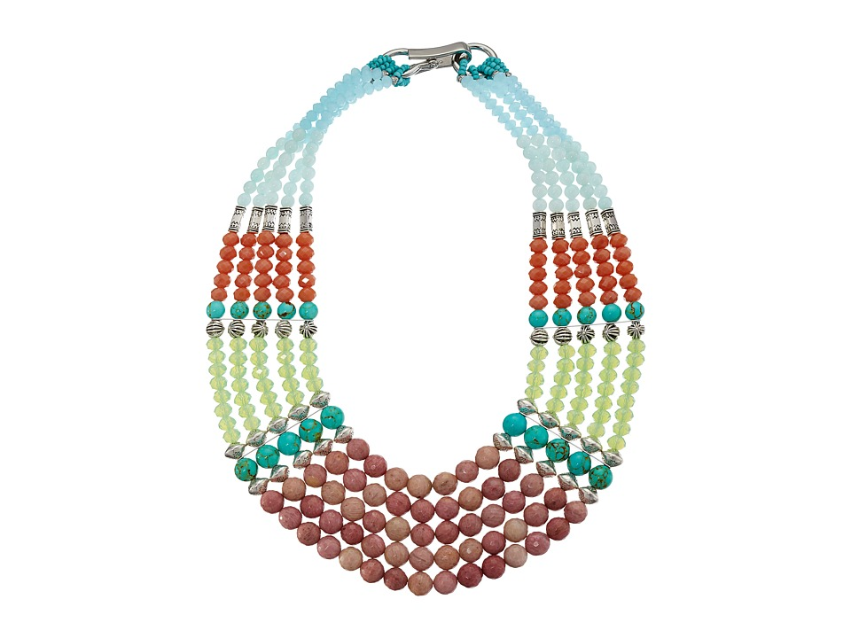 Gypsy SOULE - GSDN15412 (Green/Orange/Blue/Red) Necklace