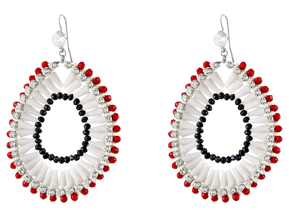 Gypsy SOULE - GSDE15352 (White/Red/Black) Earring