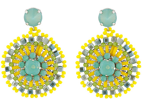 Gypsy SOULE - CRE44 (Yellow/Turquoise) Earring