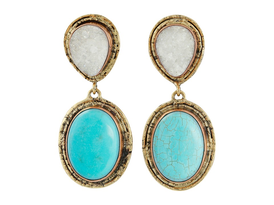 Gypsy SOULE - CRE36 (Turquoise/Crystal) Earring