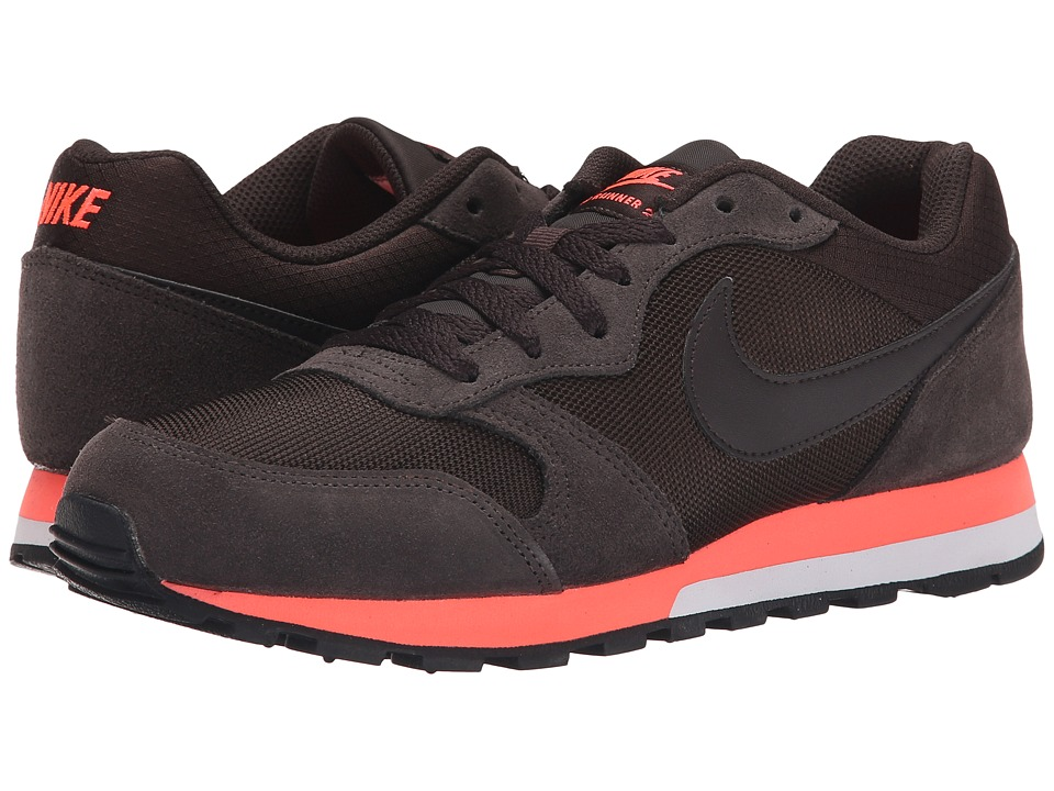 Nike - MD Runner 2 (Velvet Brown/Hot Lava/Velvet Brown) Women's Classic Shoes