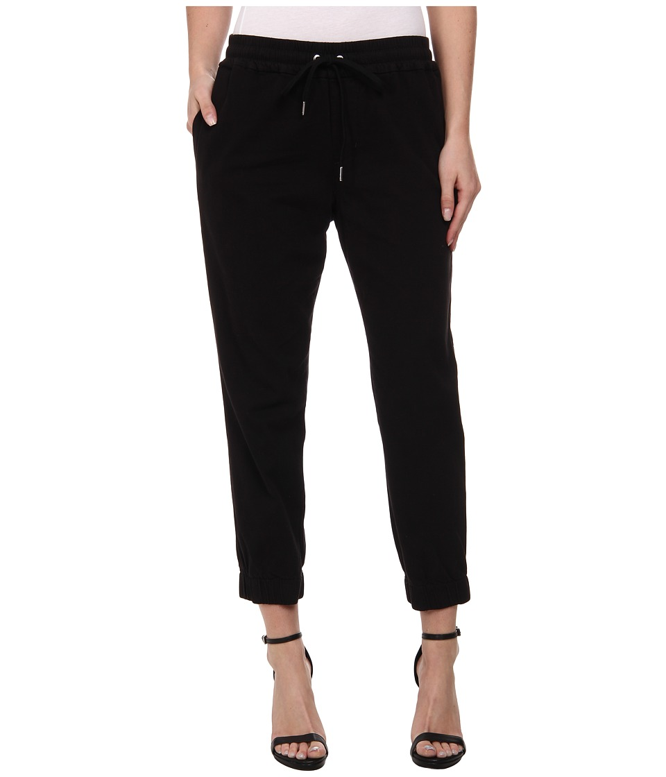Joe's Jeans - Off Duty Cropped Jogger (Black) Women's Casual Pants