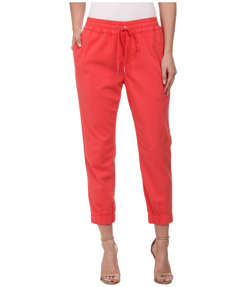 Joe's Jeans - Off Duty Cropped Jogger (Amaranth) Women's Casual Pants