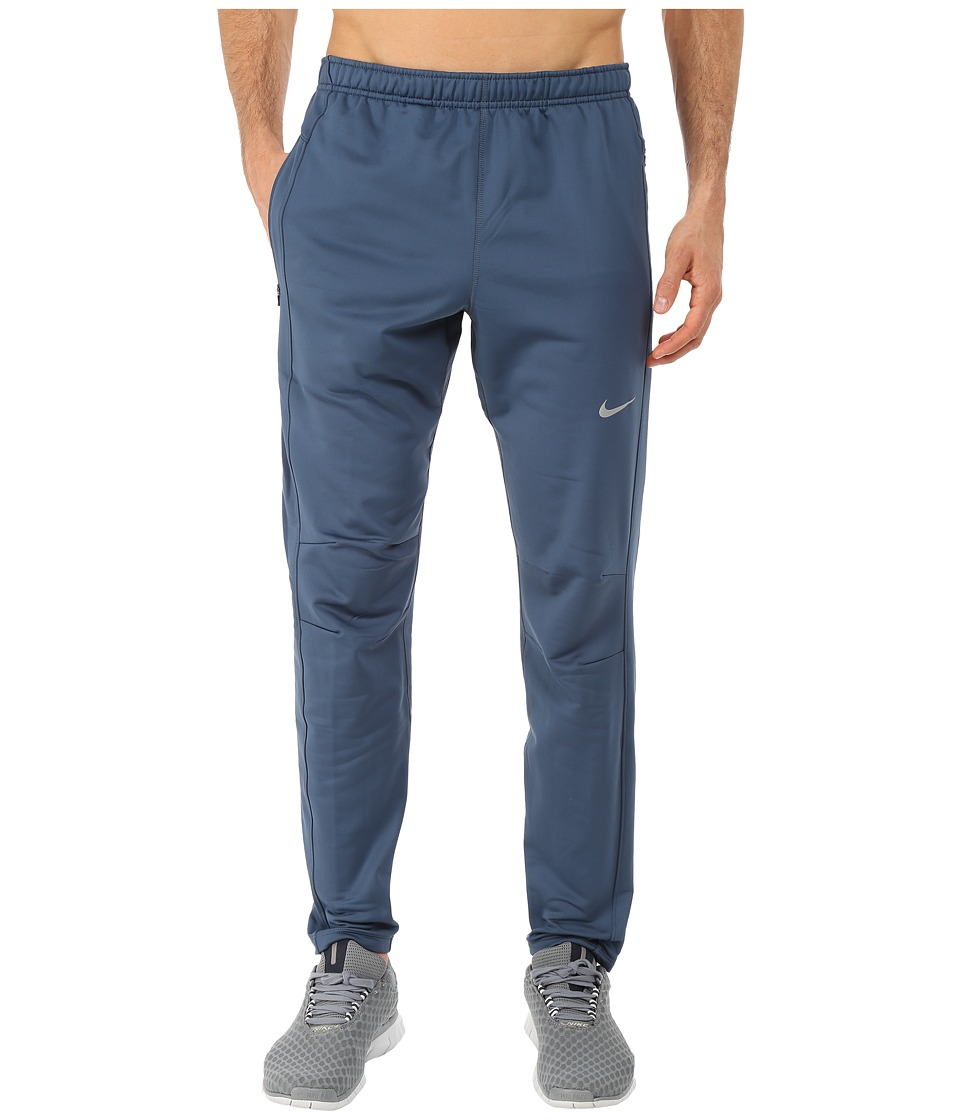 Nike - Dri-Fit Thermal Pants (Squadron Blue/Reflective Silver) Men's Workout
